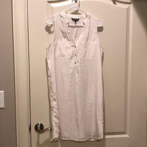 A line Express Sleeveless dress.